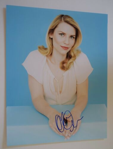 Claire Danes Signed Autographed 11x14 Photo HOMELAND COA VD