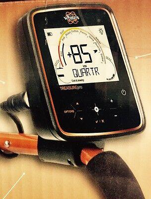 Whites TreasurePro Metal Detector, Waterproof 10