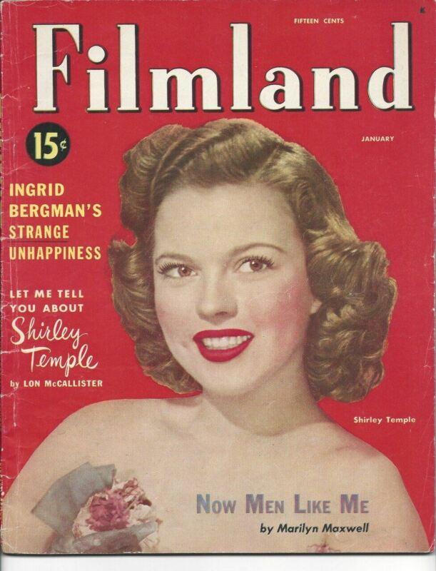 Filmland - Shirley Temple - January 1950
