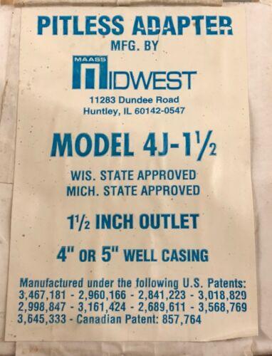 Maass Midwest Pitless Adapter 4J1-1/2