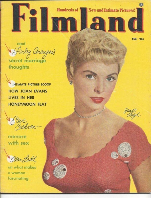 Filmland - Janet Leigh - February 1953