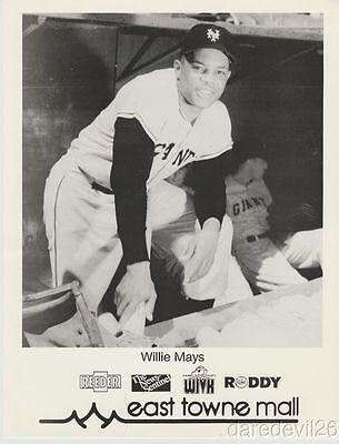 1980's Willie Mays New York Giants MLB Baseball East Towne Mall Appearance (Newyork Mall)