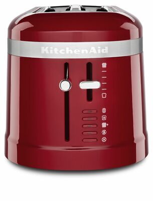 KitchenAid KMT5115ER 4 Slice Long Slot Toaster W/High-Lift Lever, Empire Red