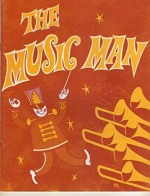 "Gig Young   Souvenir Program   ""The Music Man""  1965  STOCK"