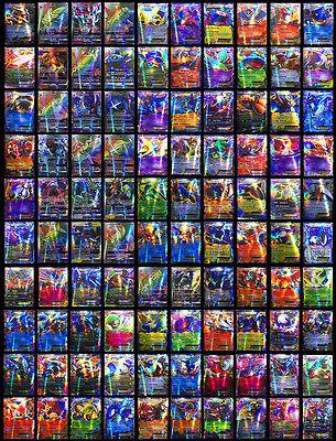 100PCS Pokemon Cards--20pcs GX+ 80pcs EX Cards--Flash Trading English Cards