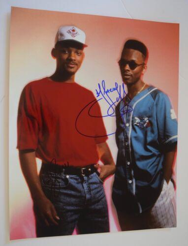 DJ Jazzy Jeff & Will Smith Signed Autograph 11x14 Photo THE FRESH PRINCE COA VD