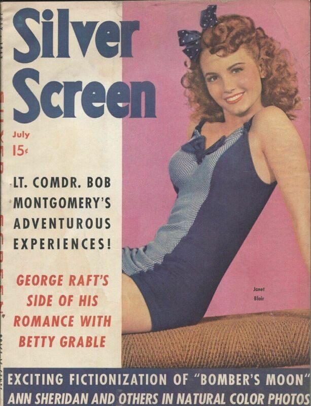 Silver Screen - Janet Blair - July 1943