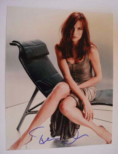 Famke Janssen Signed Autographed 11x14 Photo X-MEN Goldeneye Hot Sexy COA VD