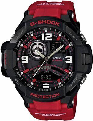 Casio G-Shock GA1000-4B G-Aviation Compass Aviator Watch