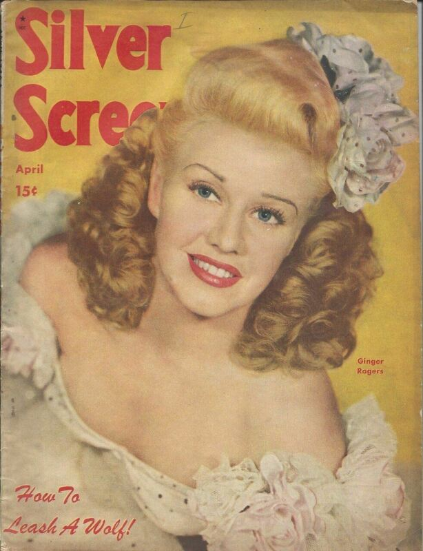 Ginger Rogers - Silver Screen - April 1946