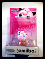 Amiibo Jigglypuff - Super Smash Bros. Collection 37 Pummeluff Rondoudou Nintendo - nintendo - ebay.it