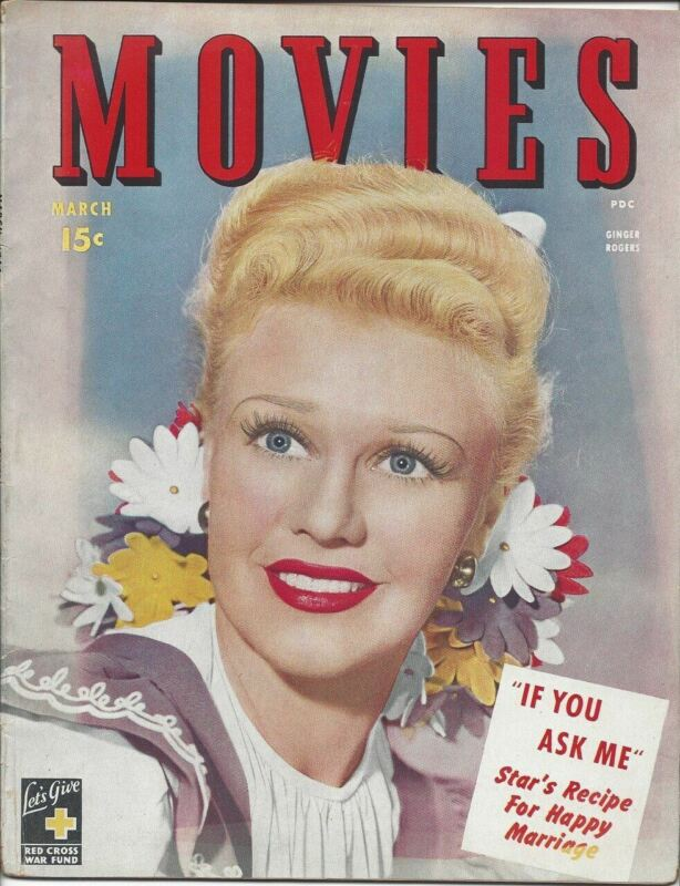 Ginger Rogers - Movies - March 1944