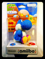 Amiibo Yoshi Di Lana Azzurro - Light-blue Yarn Yoshi's Woolly World Collection - light - ebay.it
