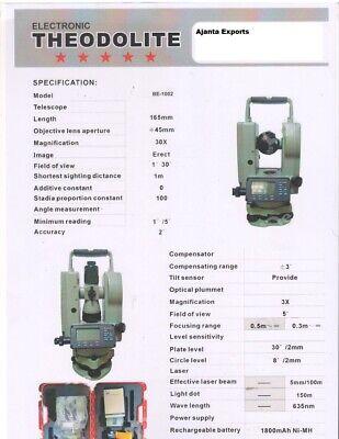 Digital Thedolite Levels Surveying Equipmenttransits Theodolites
