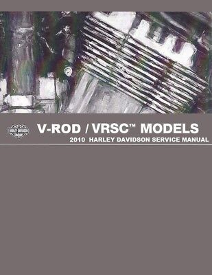 Harley-Davidson VRSC Workshop Service Repair Manual 2010