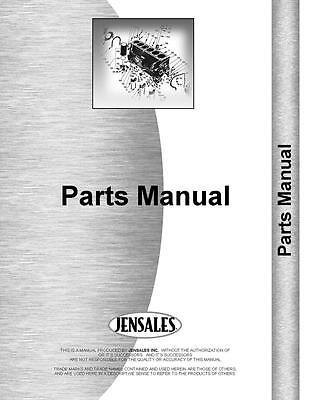 Caterpillar D6c Crawler Parts Manual  99J1754 99J2534