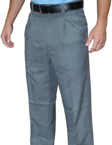 Smitty Heather Grey Umpire Pants 100% Polyester - Closeout Pricing