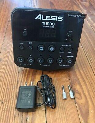 Alesis Turbo Mesh Drum Module Brand New Electronic Drum Brain