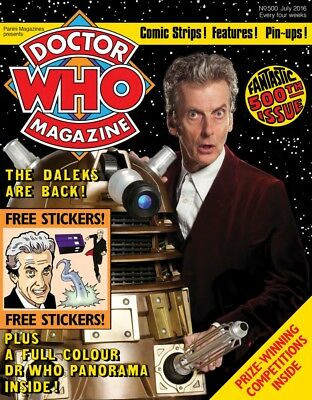 THE  DOCTOR WHO MAGAZINE DVD ROM COLLECTION -VOLUME 5 / 431-514
