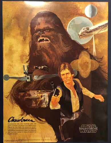 3 STAR WARS POSTERS - BURGER CHEF Originals from 1977****GUARANTEED QUALITY***