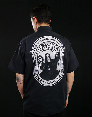 Motorhead - Leaving Here Workshirt RARE t-shirt overkill slayer hellhammer punk, used for sale  Mexico