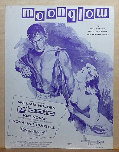 Moonglow - 1955 sheet music -  from the movie Picnic