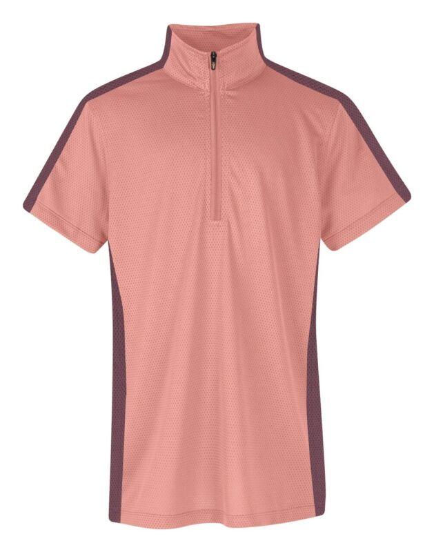 Kerrits Kids Cool Ride Ice Fil Short Sleeve Shirt Solid - Sunset