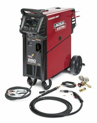 Lincoln Power Mig 260 Mig Welder K3520-1