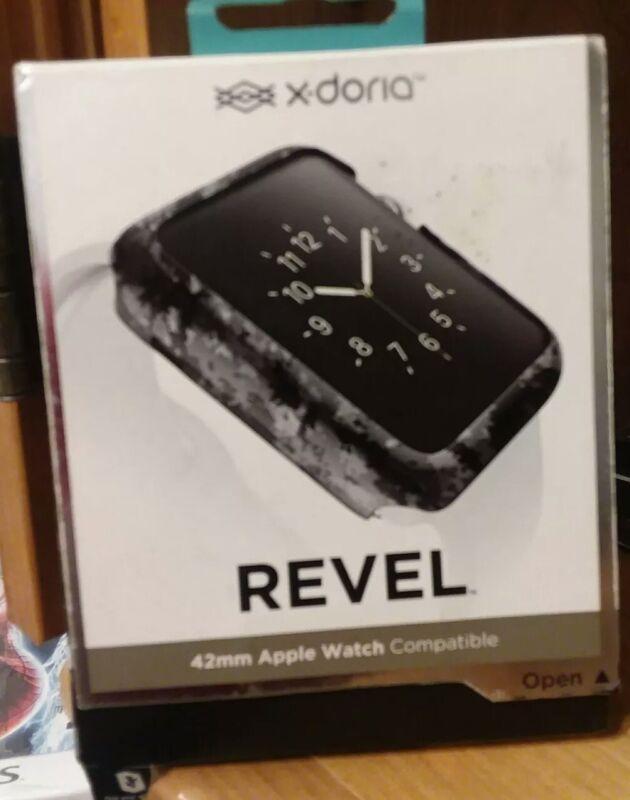 X-Doria Revel Snap-On Fashion Case, 42mm Apple Watch Compatible *Read Details*