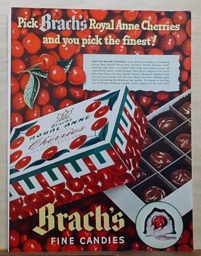 1940 magazine ad for Brach