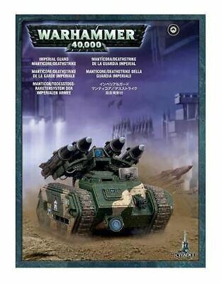 Warhammer 40k Imperial Guard - Astra Militarum Manticore/Deathstrike NEW in BOX