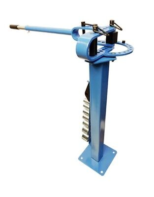 Mountable Compact Floor Metal Bender 7 Dies 1 to 3 inch