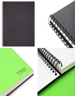 Artgecko Classy Sketchbook (A3 Portrait) - 80 Pages (40 A3 Portrait, Black