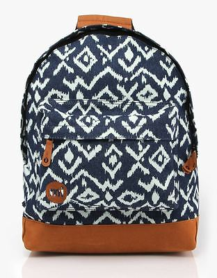 Zaino Donna Mi-Pac Backpack Tribal Denim Indigo Rucksack Mochila рюкзак