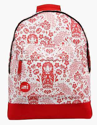 Zaino Mi-Pac Backpack Russian Dolls Natural Red Rucksack Mochila рюкзак MiPac