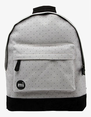 Zaino Mi-Pac Backpack Canvas Dot Grey Black Rucksack Mochila рюкзак MiPac