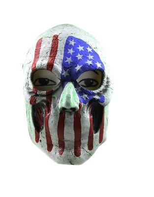 The Purge Creepy Masks (USA Mask The Purge Horror Movie 3 Election Year American Flag Creepy)