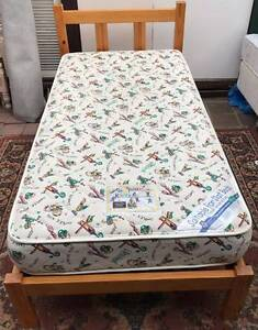 Excellent wooden frame single bed with mattress. Delivery availab Kingsbury Darebin Area Preview