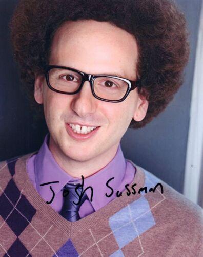 Josh Sussman Signed Autographed 8x10 Photo GLEE Actor COA