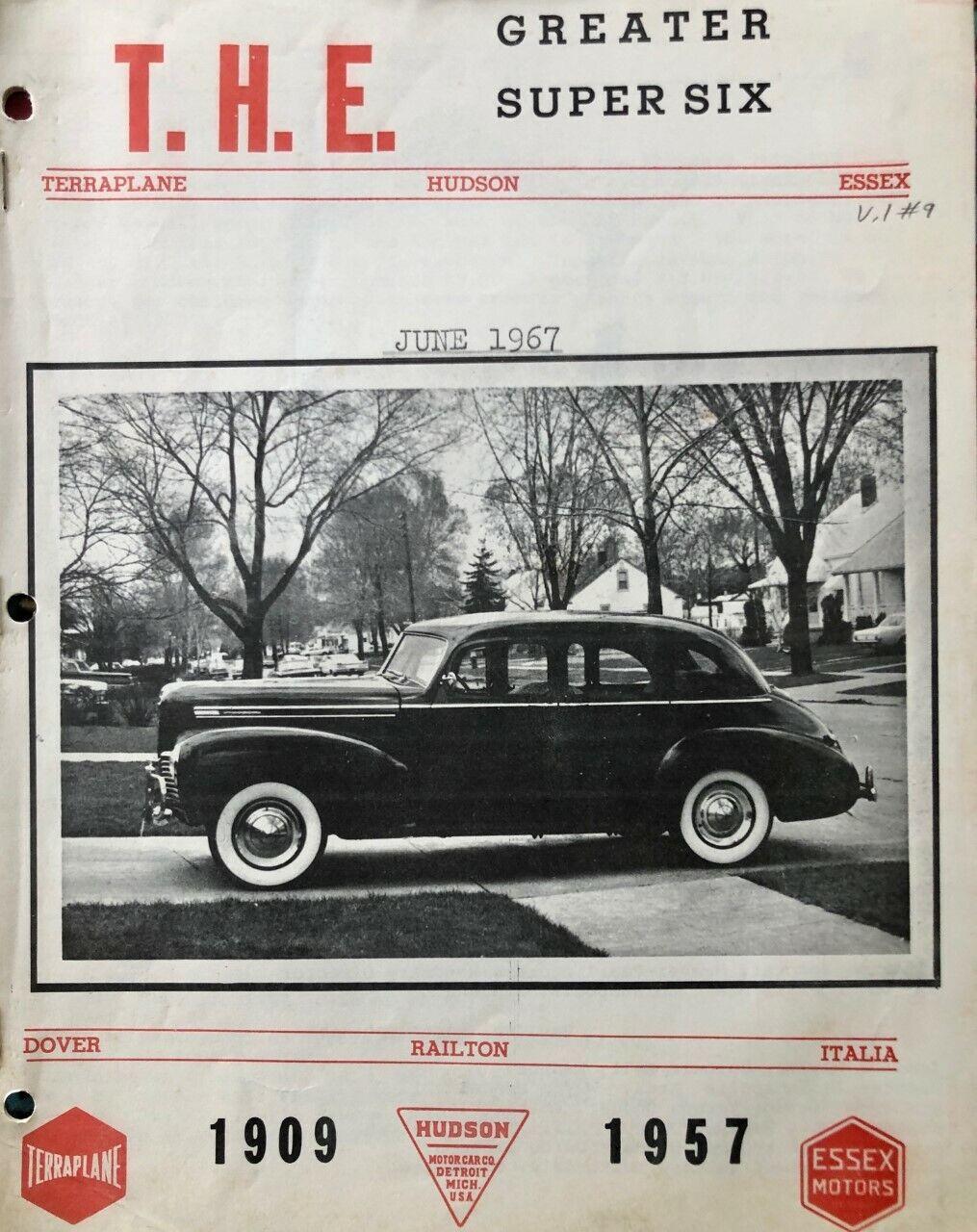 Ten 1960s THE Hudson Essex Mags 27 29 30 35 40 41 42 46 47 48 49 50 51 52 53 54