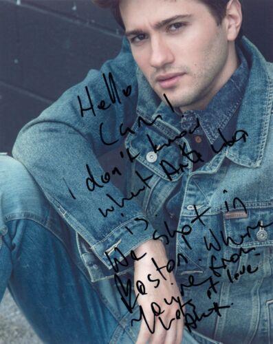 Alex Fitzalan Signed Autographed 8x10 Photo The Society Actor Slender Man COA