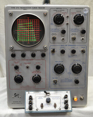 Tektronix 575 Transistor Curve Tracer 1 Tested Working Local Pickup Only