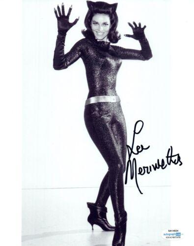 Lee Meriwether Signed Autographed 8x10 Photo Catwoman Batman ACOA COA