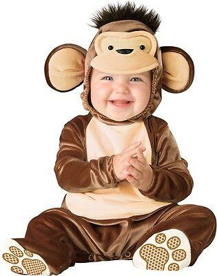 Baby Jungen Mädchen Affe Tier Halloween Karneval Kostüm Kleid Outfit (Baby Mädchen Affe Kostüm)