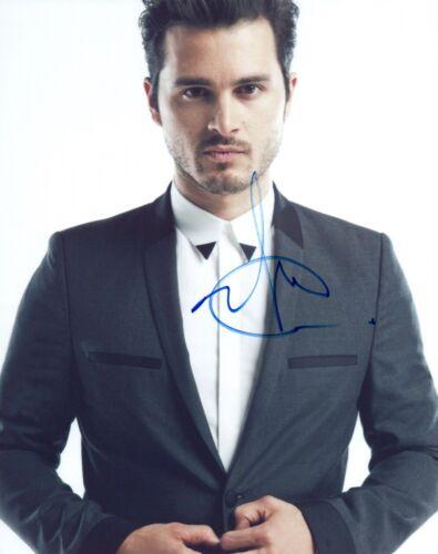 Michael Malarkey Signed 8x10 Photo The Vampire Diaries Project Blue Book COA