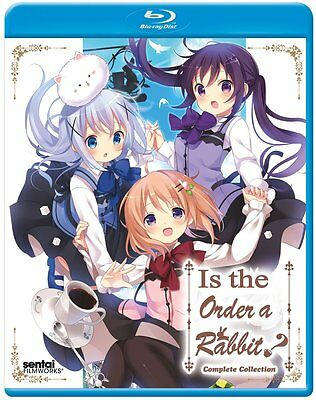 Is The Order A Rabbit   Season 2 Complete Collection   Blu Ray  Anime Brand New