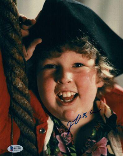 Jeff Cohen Signed Autograph 8x10 Photo Chunk The Goonies Beckett BAS COA