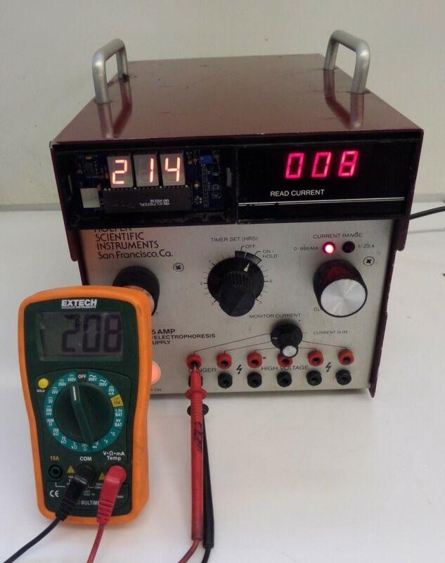 Hoefer Scientific PS 250 Electrophoresis Power Supply