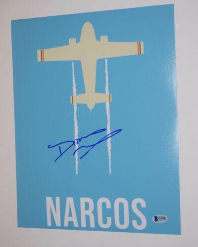 Diego Luna Signed Autographed 11x14 Photo NARCOS MEXICO Beckett BAS COA