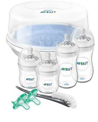 Philips Avent Natural Baby Bottle Essentials Gift Set, SCD208/01, New